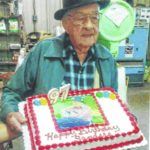 97-year-old businessman still going strong