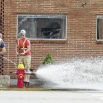 Hydrant testing maintains insurance rating