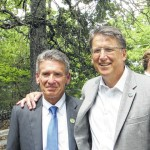 Gov. McCrory visits Pilot Mountain to discuss Connect NC bond referendum