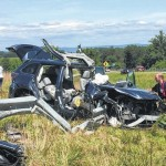 Crash claims one life, one critical