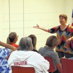 """Storyteller hosts """"Tales for Grown Ups"""" at Stone Library"""