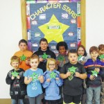Nancy Reynolds announces October students of the month