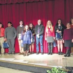 Poetry Out Loud District Competition held at South Stokes High School