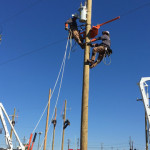 Local linemen compete in rodeo