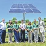 Meadowview unveils new solar panel