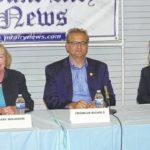 Pilot candidates discuss town needs