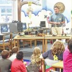 Copeland students learn about electricity