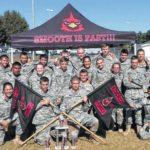 ROTC team takes second, advances