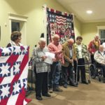 Surry Quilters 'wrap love' around local veterans