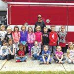 Shoals students visit firehouse