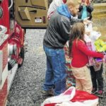 Firefighters bring cheer to Wesfield