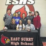 East Surry's Smith signs with Surry Knights