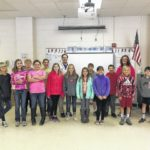 Pilot Mountain Elementary School students receive a visit from veterinarian at Pilot Mountain Animal Hospital