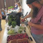 Rain didn't deter Pilot's first farmer's market