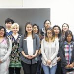 SCC grad shares experience with students