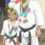 Pilot youth in karate nationals