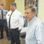 State fire marshal rides into town