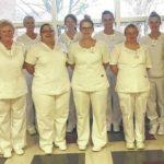 Nursing students conclude studies
