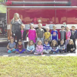 Shoals kindergartners visit fire dept.