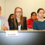 Civil litigation class holds mock jury trial