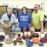 SCC pottery students to sell their wares