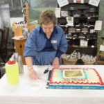 Birthday party for Confederate general