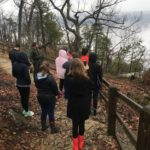 Botany Class visits Pilot Mountain State Park