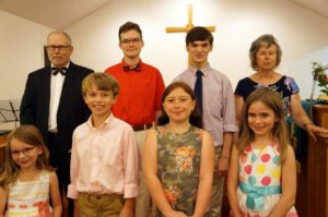 Music students offer concert at church