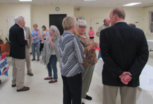 Women's Club holds candidate meet, greet
