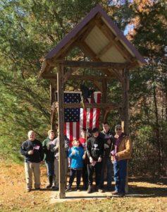 Scouts commemorate Armistice Day