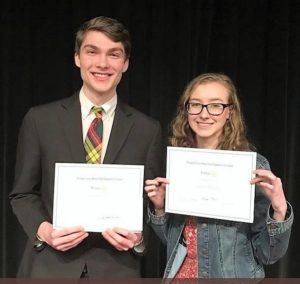 Local teens take part in Rotary speech contest
