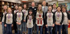 Gentry wins Battle of the Books