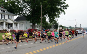 Runners take to the street in 5K