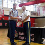 East Surry JROTC holds awards banquet