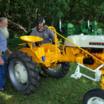 Tractor show echoes farming history