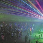 Glow party a hit with all ages