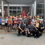 Pilot Mountain students learn about communnity helpers