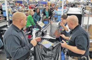 Sheriffs spread Christmas cheer