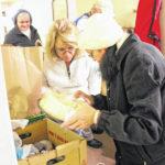 Volunteers help feed Pilot-area families